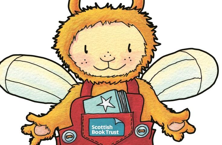 Bookbug mascot