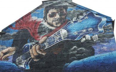 Gerry Rafferty mural