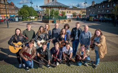 Spree for All bands in Johnstone