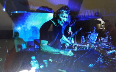 Michael Rother live - Photo Michael Rother archives